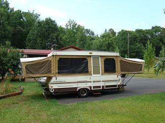 The Fishin Web 1987 Starcraft 24 Pop Up Camper